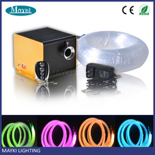 Wholesale cheap sauna fiber optic light with twinkle wheels fibre optic light source and strands