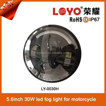 Good price 3000lm bright 5.6inch round 40w high quality led headlight motorcycle for Harley