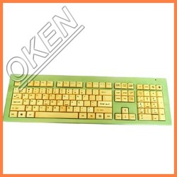 Stock Products Status and Wireless Type bamboo keyboard