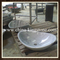 Low price one piece bathroom sink and countertop different types