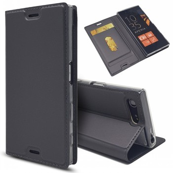 Mobile Accessories PU Leather Book Flip Cover Coque Funda For Sony Xperia X Compact Case