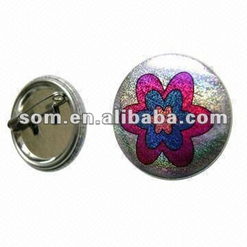 Tin Pin Button insignia