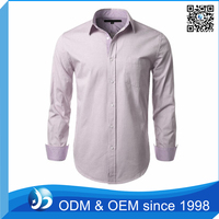Custom Fashion Oxford Men's Shirt with 100% Cotton