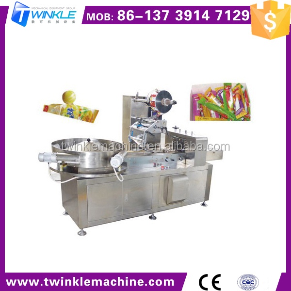 TK-Q152 LOLLIPOP PILLOW TYPE WRAPPING MACHINE