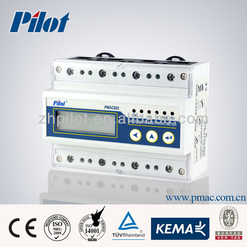 PMAC903 electronic modbus energy meter, electric energy meter