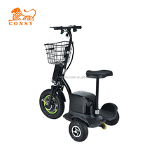 Wholesale import powerful 500w 48v street legal adult 3 wheel electric scooters