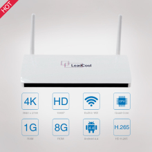 hot Arabic iptv Android TV Box LeadCool 1GB ROM 8GB RAM quad core smart wifi tv box