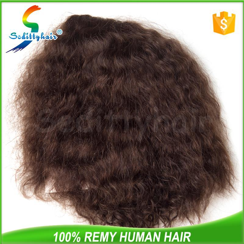 ODM manufacturers Deep Wave hair peruvian hair u part wig