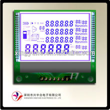 custom lcd for auto parking sensor