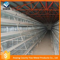 1800mm-2200mm A and H type chicken cages egg layer products poultry farm in africa