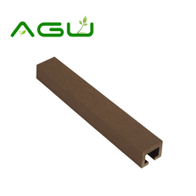 High strength wpc fence garden lawn used wpc fence beam post and panel tiles for sale