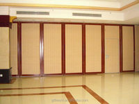 soundproof and fireproof sound absorption acoustical partition screen for room dividing