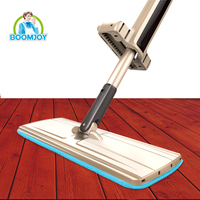 boomjoy Floor Cleaning roman magic mop microfiber triangle mop head plastic mop