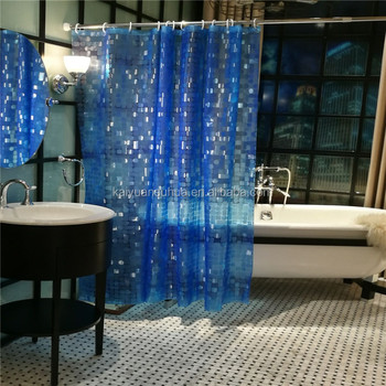 "Water repellent PEVA shower curtains anti mildew 72""*72"""