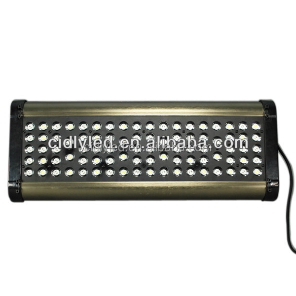 CIDLY 300W led aquarium light with marine fish, live corals, goldfish and tropical fish