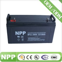 12v 100ah sealed lead acid battery regenerate battery for solar energy