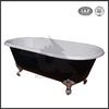China best simple deep classical freestanding drop-in cast iron enamel bathtub