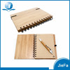 Eco Natural Wood Cover Notepad Wooden Notebook