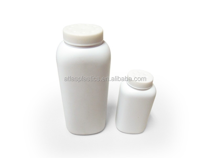 Baby powder body care skin care Talc bottle with cap