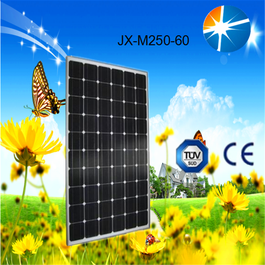 high quality monocrystalline solar panels 250 watt of best sale