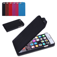 Leather phone case with small magnetic snap for iphone 6s