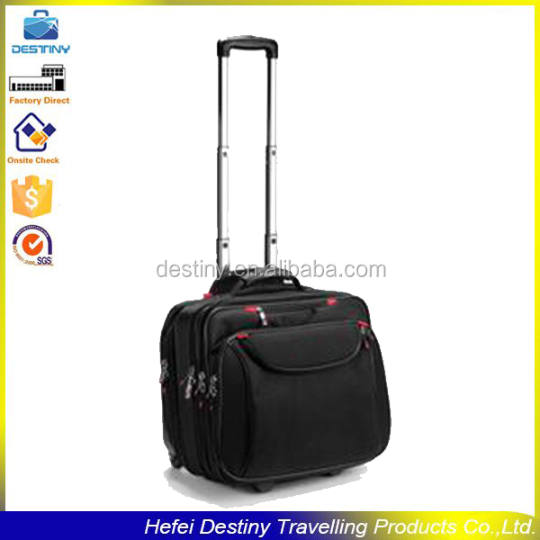 fashional high quality travel trolley wheeled briefcase