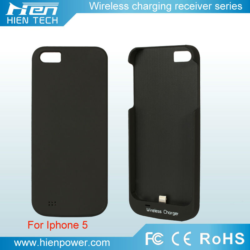 High quality wireless charger receiver case for iphone 5