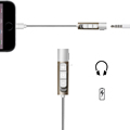 3.5mm adapter Earphone Connecting Cable for iphone 7 7 plus