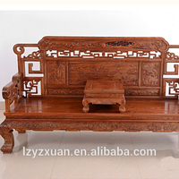 China manufacturer dragon wooden sofa with CE&ISO