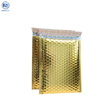 best selling products envelope wrap metallic rose gold bubble mailer