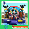 Mikey mouse inflatable combo for sale china inflatable bouncy castle