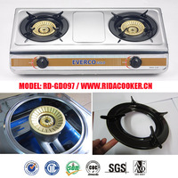 2 burner electric gas cooker/gas stove/gas stove oven (RD-GD097)