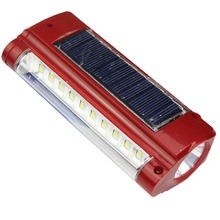 2016 New product in pakistan market portable solar emergency light for home use and camping fishing emergency Light Led