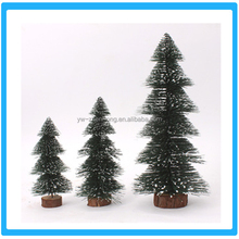 High quality various sizes snow christmas tree Green christmas ornament
