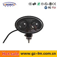 Hot sale New 5.6inch 8watt blue color 12v led spotlight auto forklift led warning light