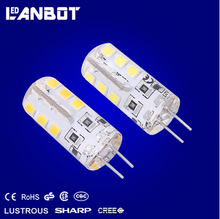 2016 Europe Popular fromLANBOT factory 12V GY6.35 led light bulb gy6.35 Crystal lamp gy6.35 led Auto lamp dimmable GY6.35