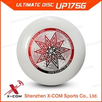 X-COM Wholesale Custom Logo Printed Ultimate Disc White Color Ultimate Frisbee