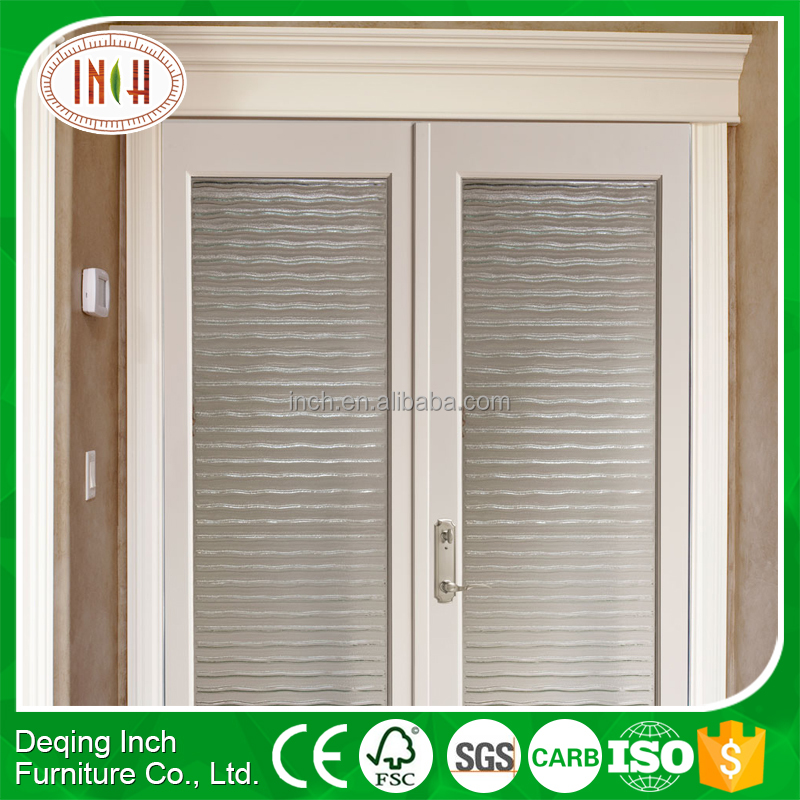 Manufacturer directly supply wooden patio doors With Low Price