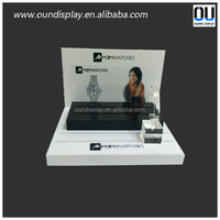 acrylic watch display with 8 grid casio shop design stand