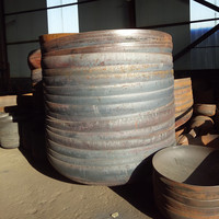 Ellipsoidal Dished Heads Dished End Fuel Storage Tank Cap Tank End Covers ASME 2:1 Elliptical Heads Steel Fabrication Company