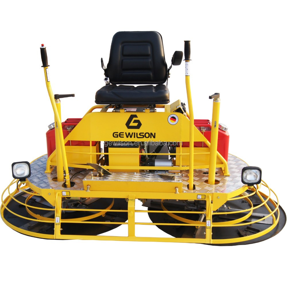 China Ride-on Driving troweling machine for concrete floor supplier