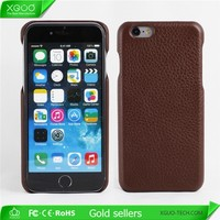 Handmade genuine leather case for iPhone 6, for iPhone 6 genuine case