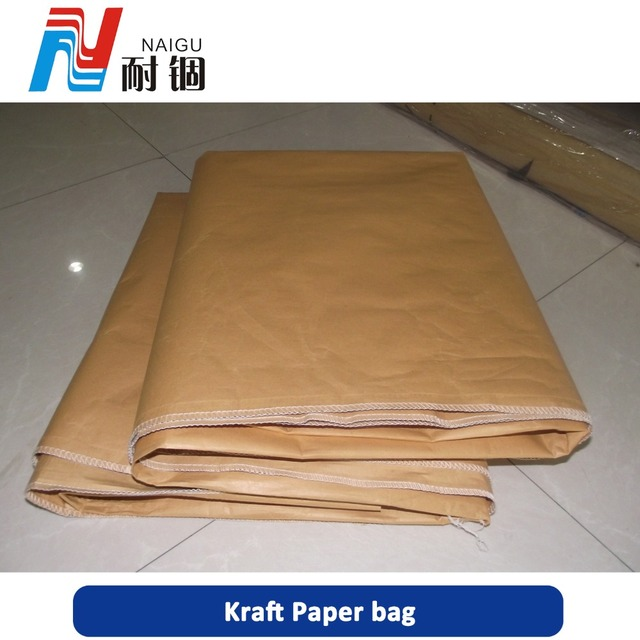 25kg kraft paper cement bag china for good packing