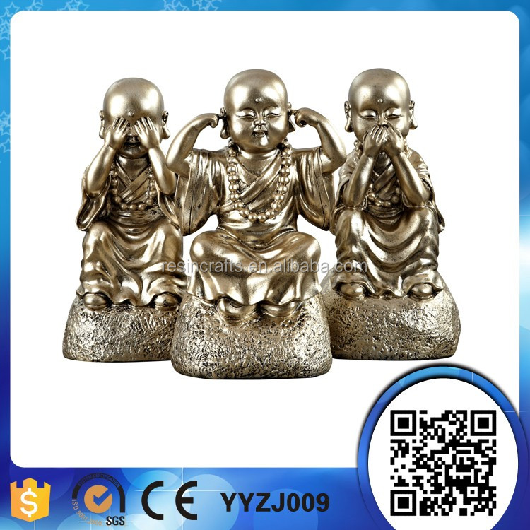 resin religion figure of buddha statues