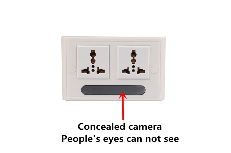 latest real wall socket camera 1080P wifi APP remote control monitor live surveillance hidden invisible camera