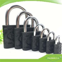 top security globe iron lock manufacturer black die cast hardware lock