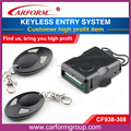 Hot selling universal 433mhz universal remote control keyless entry system CF938 with two jummper wire selection
