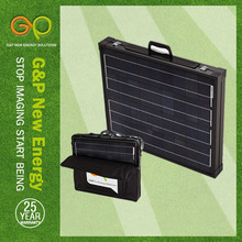 GP 160W Mono Foldable solar panel in high module eficiency for silicone water machine