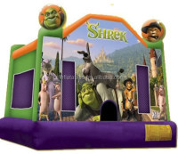 Shrek Inflatable bouncer/bounce house/inflatable bouncy castle kids toy