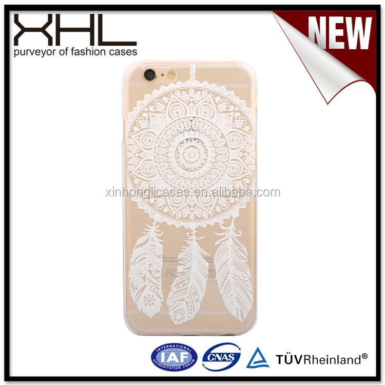 Export quality products for iPhone66 plus white tpu uv printing cases